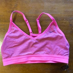 soulcycle nike pink bra